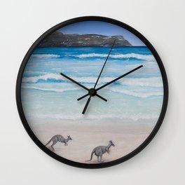 I Should Be So Lucky Wall Clock