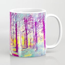 Let's Take Our Hearts For A Walk In The Woods and Listen to the Magic Whispers of Old Trees... Coffee Mug