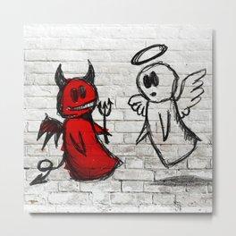 Devil-Angel Metal Print