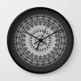 Mandala blast Wall Clock