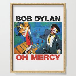 bob young dylan mercy Serving Tray