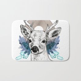 The Deer (Spirit Animal) Bath Mat