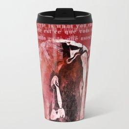 Style is... Travel Mug