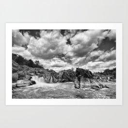 Great Falls National Park, Virginia Art Print