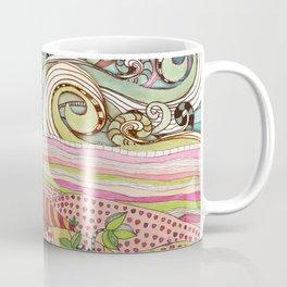 Pink sun rising Coffee Mug