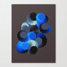 Tuck & Roll Dark Canvas Print