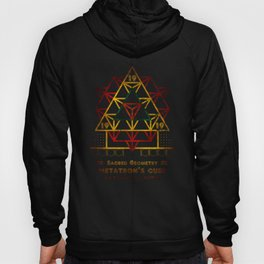Sacred Geometry for your daily life - METATRON FIRE Hoody