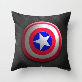 Capt. America Shield Throw Pillow