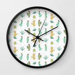 Cactus SERIE - CACTI LOVE Wall Clock