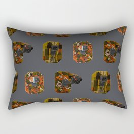 Eyes on the Prize Rectangular Pillow