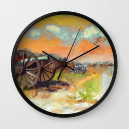 Days Of Discontent Wall Clock
