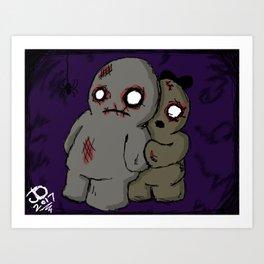 Belated Halloween Piece Art Print