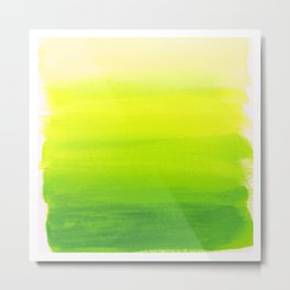 Lemon Lime Metal Print