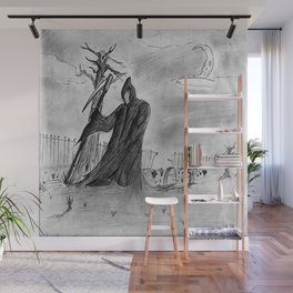 Mourning Wall Mural