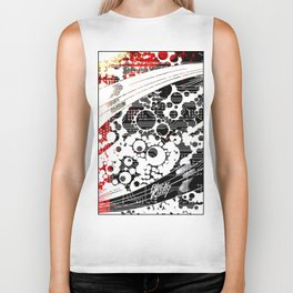 BK abstrakt 1 Biker Tank