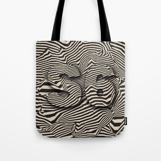 striated Tote Bag