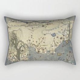 Uncertain Beauty Rectangular Pillow
