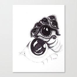 eye on waterloo Canvas Print