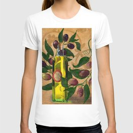 Olives and Italian Olive Oil T-shirt