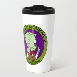 Cthulhu Approves! Travel Mug