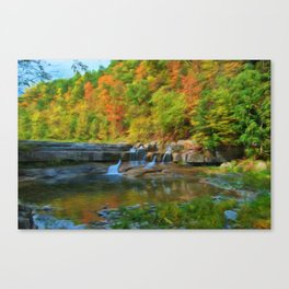 Lower Taughannock Falls Canvas Print