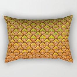Pineapple Mania Texture Rectangular Pillow