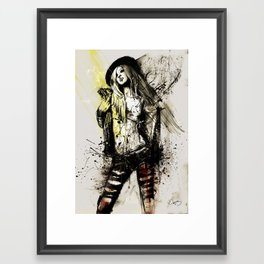 stacey Framed Art Print