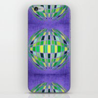 globe iPhone & iPod Skins featuring globe by Katilinova