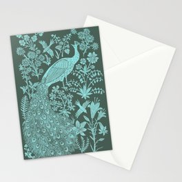 Peacock Garden Stationery Cards