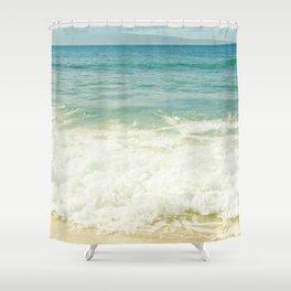 Ocean Beach Love Kapalua Blue Maui Hawaii Shower Curtain