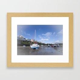 Tenby Beach  Framed Art Print