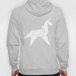 Origami Unicorn Grey Hoody