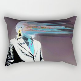 NO ONE AROUND HERE HAS THE GUTS INVERT Rectangular Pillow