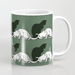 "Théophile Steinlen  ""Frise de chats"" (original) Coffee Mug"