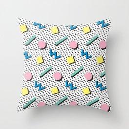 Memphis pattern no.3 Throw Pillow