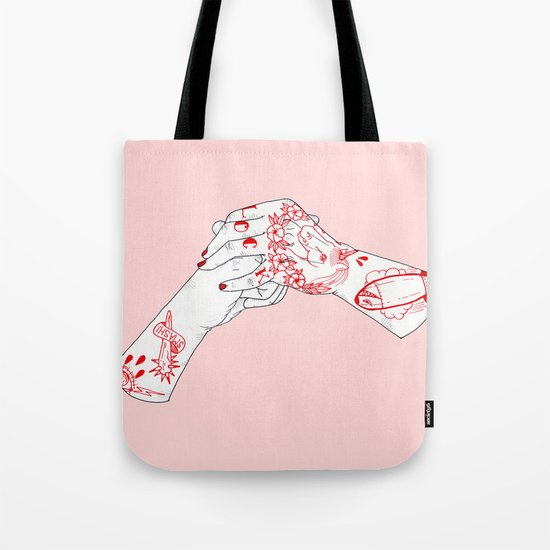 Pop'n'Lock Tote Bag