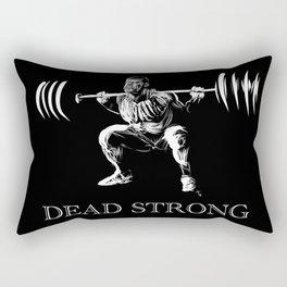 Zombie Squats (Dead Strong) Rectangular Pillow