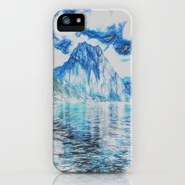 Lake Of Dreams Art iPhone Case
