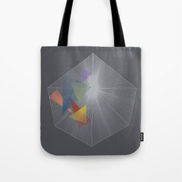 floating vortex Tote Bag
