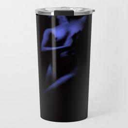 Deep Blue Nude Travel Mug