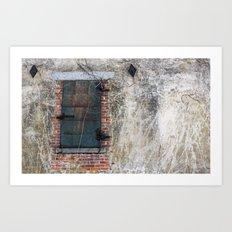 Dark Window Art Print