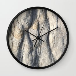 Rock Face Wall Clock
