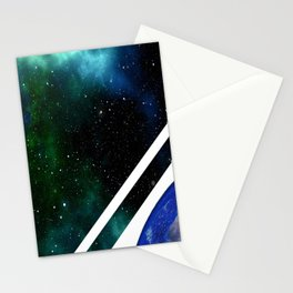 Space travel Stationery Cards