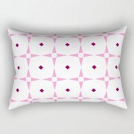 stars 99- pink Rectangular Pillow
