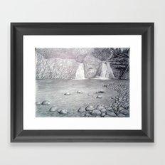 bw12 Framed Art Print