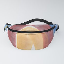 8 | 1903016 Watercolour Abstract Painting | Abstract Arch Fanny Pack