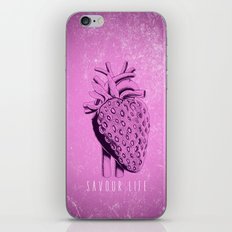 savour life ! iPhone & iPod Skin