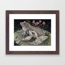 Poisoned Waters art print Framed Art Print