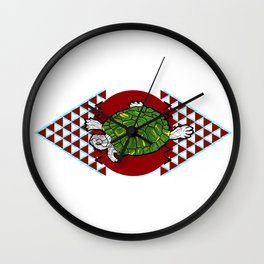 Swimming Terrapin Wall Clock