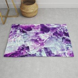 Ultra violet crystal detail Rug